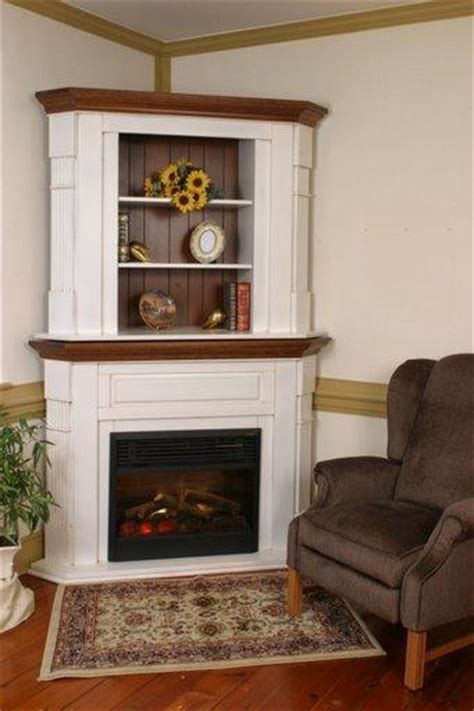 amish electric fireplace with bookshelves