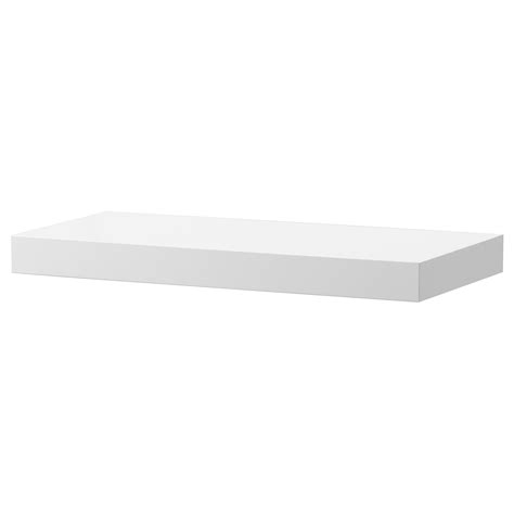 ikea lack lack wall shelf white high gloss 59x26 cm ikea