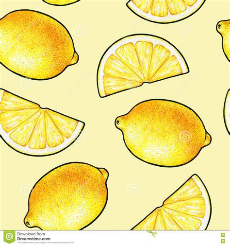 When You Lemons Doodles - beautiful yellow lemon fruits isolated on yellow