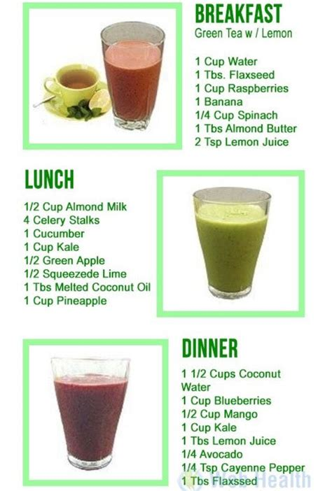 1 Day Liver Detox by One Day Three Smoothie Detox Smoothie Detox Detox