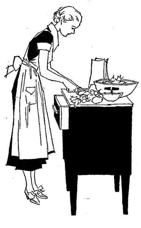 Vintage Kitchen Clipart by Vintage Kitchen Clip Cliparts Co