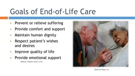 end of life comfort care nursing management end of life palliative care comfort