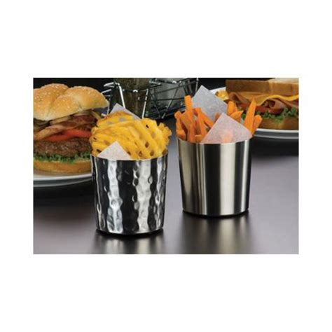 restaurant dining room leftover stainless steel serving american metalcraft ffc337 14 oz ironworks stainless