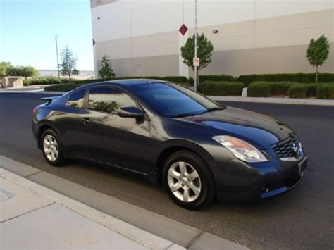 nissan altima sport 2007 sell used 2009 nissan altima s coupe 2 door 2 5l sport