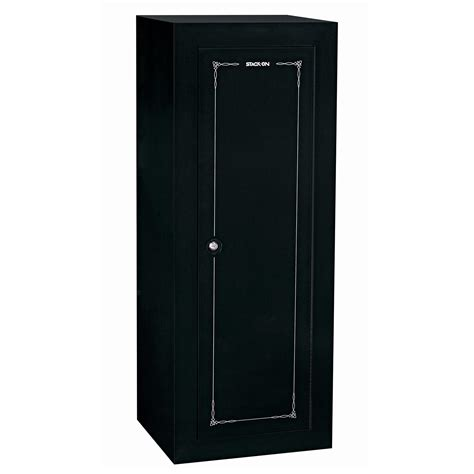 stack on gcb 18c gun cabinet convertible steel security