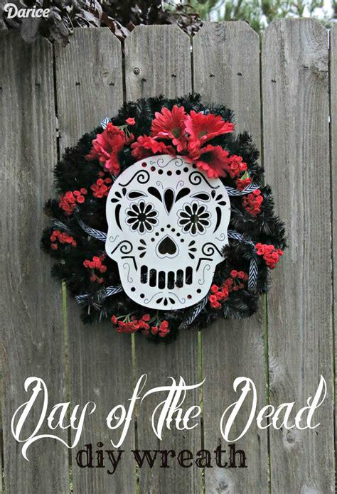dia de los muertos crafts for diy sugar skull wreath 187 dollar store crafts