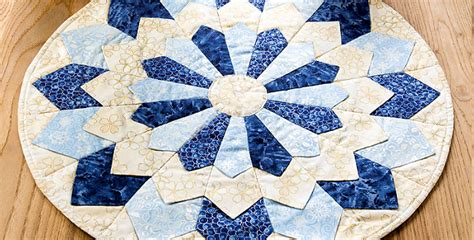 candlestick quilt pattern create a lovely quilted centerpiece in your colors
