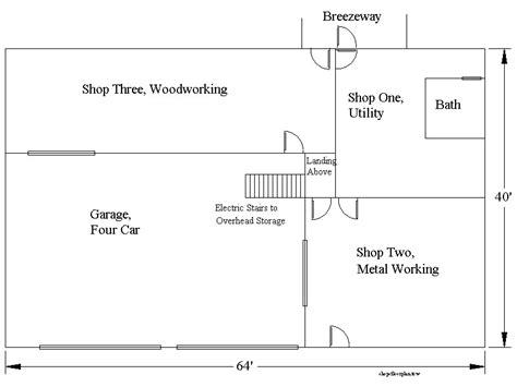 Shop Building Plans | auto shop layout best layout room