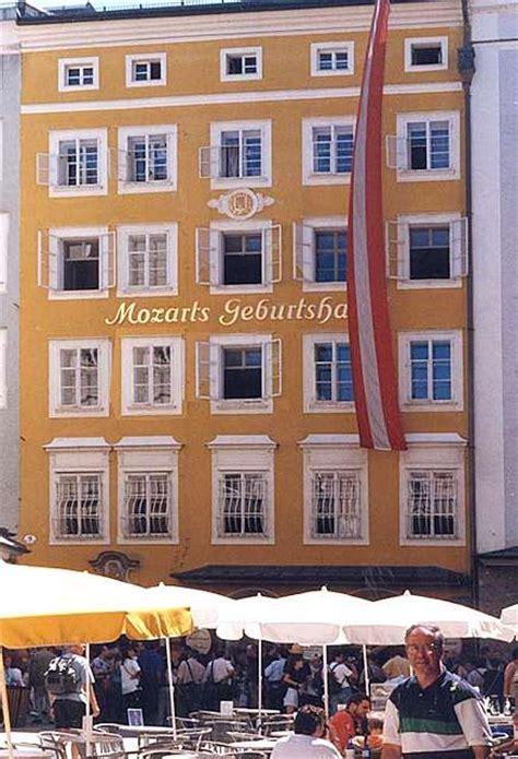 casa natale di mozart mozart a salisburgo