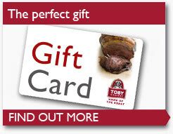 Toby Carvery Gift Card - breakfast