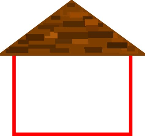 roofing a house house outline with roof clip at clker vector clip royalty free domain