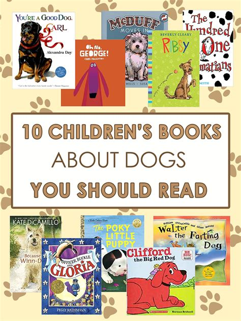 10 Books You Should Read by 10 Children S Books About Dogs Imagine Forest