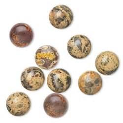 Multicolored Jasper Chalcedony Ln 75 Cabochon Leopardskin Jasper 10mm Calibrated