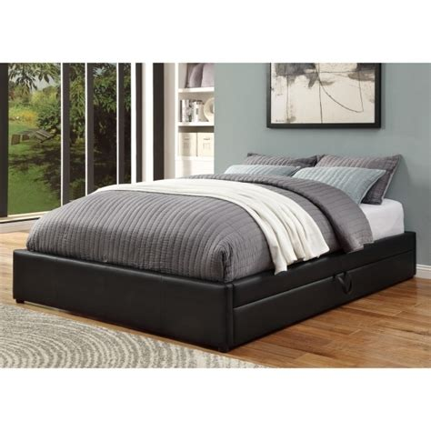 Upholstered Bed Frame With Storage Wildon Home Upholstered Platform Bed Frame With Storage Image 78 Bed Headboards