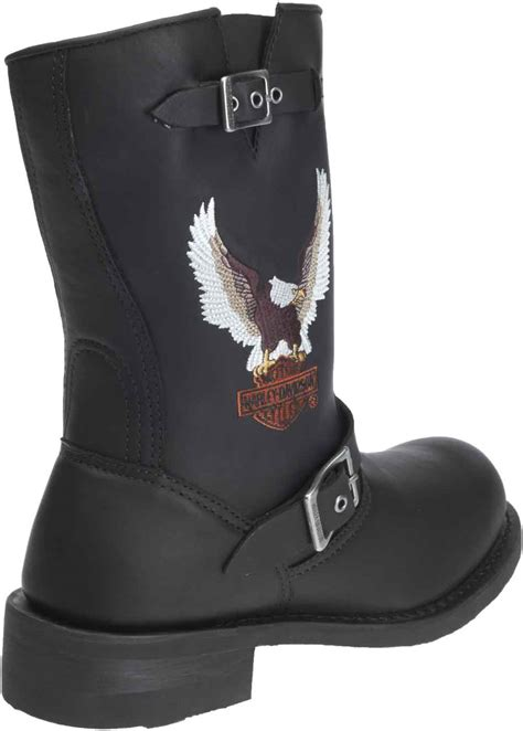 mens harley boots harley davidson s jerry 9 5 inch black or brown