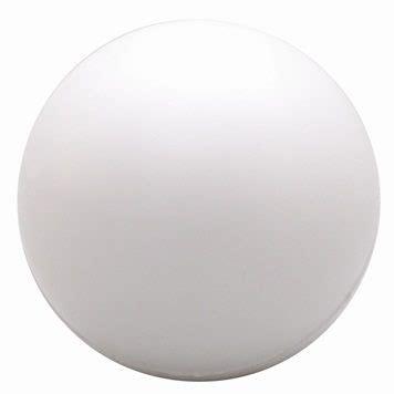 white balls white stress balls will make your logo stand out