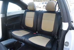 Seat Covers For Vw Beetle Volkswagen Beetle 2012 2014 Leather Like Custom Seat Cover
