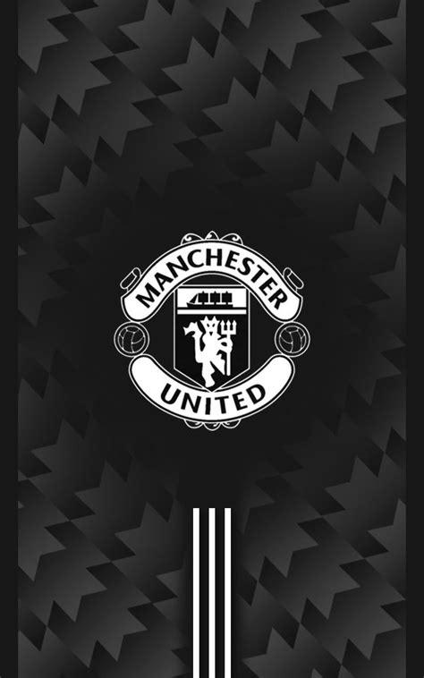 manchester united wallpaper black and white manchester united 2017 2018 away black android wallpaper