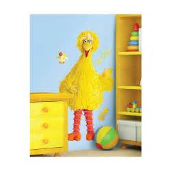 wall decal decorate room with sesame wall