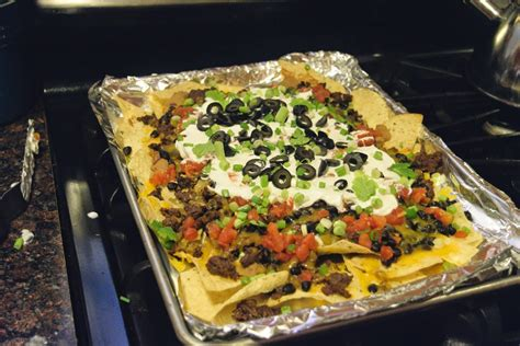 nacho supreme nachos supreme recipe the kitchen
