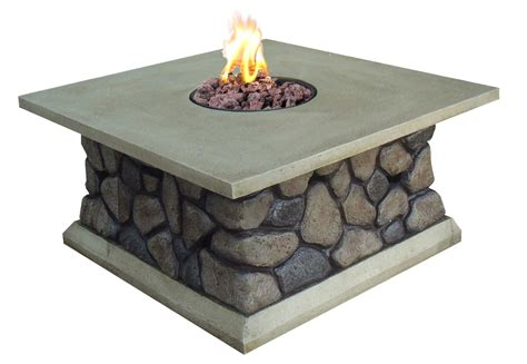 outdoor gas fireplace table 34 5 tuscan ridge outdoor gas table
