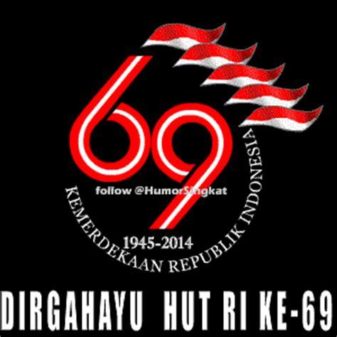 logo peringatan hut ke 69 kemerdekaan republik indonesia tahun dp bbm hut ri ke 69 gambar animasi bergerak 17 agustus 2014