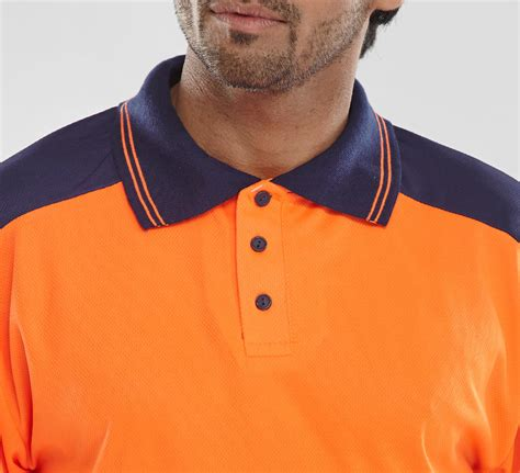 Cp Two Tone Navy Se b seen pk shirt two tone orange navy beecrown