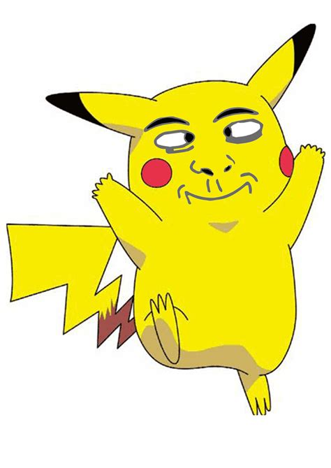 Pikachu Meme - pikachu derp face meme by justcallmethedoctor on deviantart