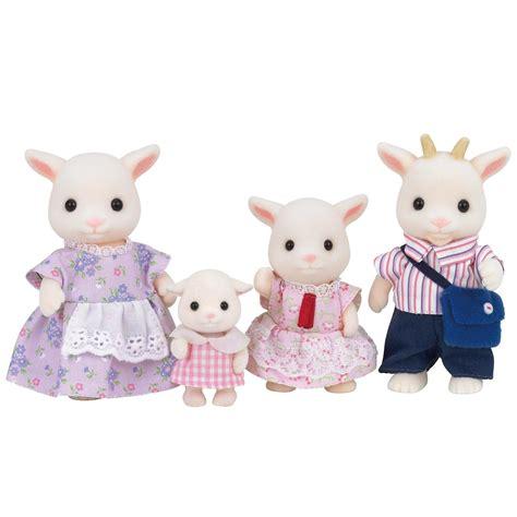Sylvanian Families Original 5185 Goat Family s sylvanian families