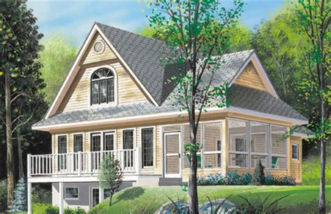 Vacation House Plans Sloped Lot Sloping Lot Vacation Home Plan 2104dr 2nd Floor Master Suite Cad Available Canadian
