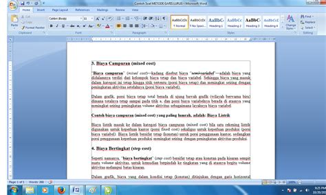 cara membuat footnote ms 2007 tutorial membuat catatan kaki panduan sederhana microsoft