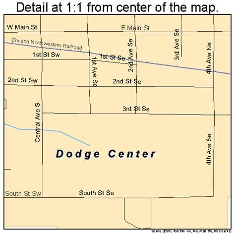 dodge center mn county dodge center minnesota map 2715994