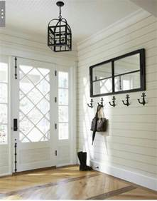 White Shiplap Ceiling Shiplap Walls Beadboard Ceiling Foyers And Hallways