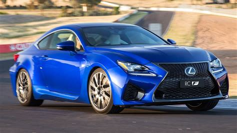 blue lexus 2015 2015 lexus rc f review first drive carsguide