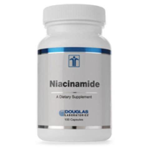 Niacinamide Detox by Douglas Laboratories Niacinamide 100 Capsules The