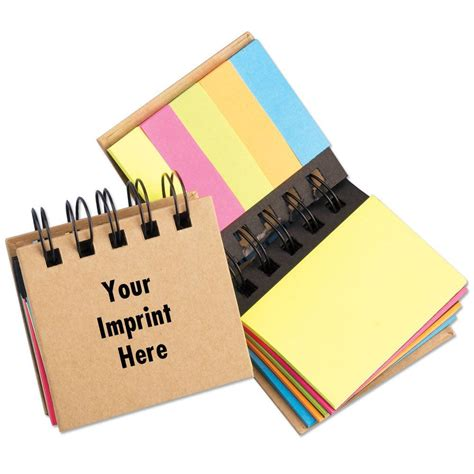 Souvenir Mini Notes Fancy Personalized Crayonpenggarispenghapus mini spiral sticky notes flags stationery positive promotions