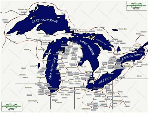the great lakes map great lakes golf trail interactive map
