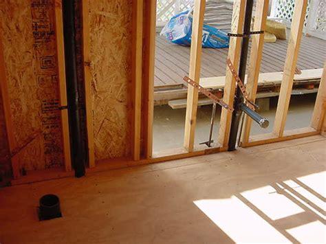 rough plumbing a bathroom rough plumbing plumbing picture post contractor talk