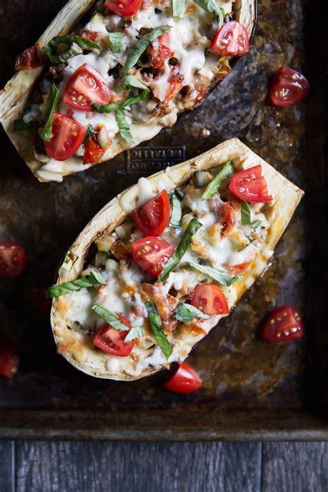 eggplant boats julie s stuffed eggplant boats ambitious kitchen