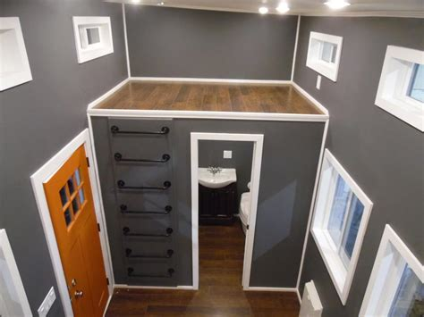 Rooms With Gray Walls man cave by upper valley tiny homes tiny living