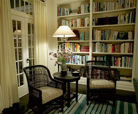 literature s living room at home with s classic novelists books something s gotta give house home bunch interior design