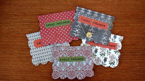 Handmade Christmas Gift Cards - homemade gift ideas handmade decorative holiday card huffpost