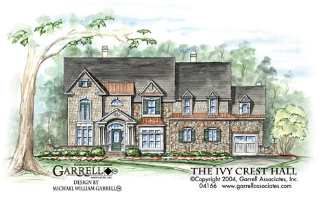 front elevations architecture pinterest tudor the o ivy crest hall house plan house plans by garrell