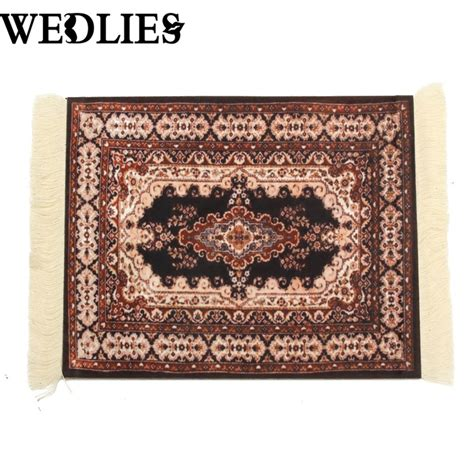 Persian Rug Mouse Pad Custom Comfortable Surface Carpet Rug Mouse Mat
