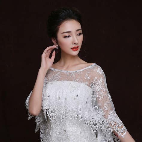 braut mantel online kaufen gro 223 handel spitze hochzeit mantel aus china