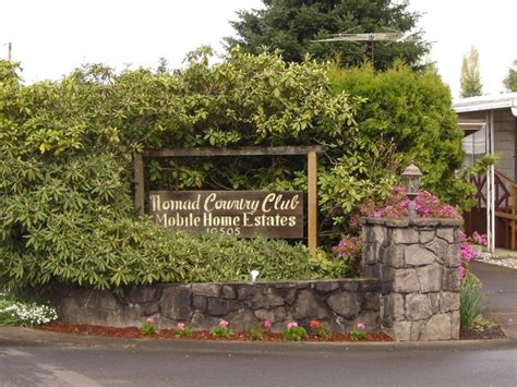 nomad country club mobile home park rentals vancouver