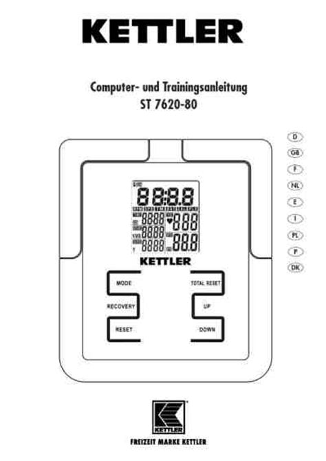 crosstrainer für zuhause kettler calypso 200andere pdf anleitung f 195 188 r