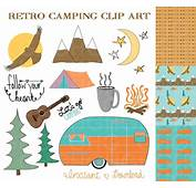 Camper And Campground Clipart  Collection