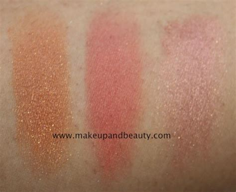 Revlon Absolute C Radiance Essence lakme absolute collection blusher photos swatches