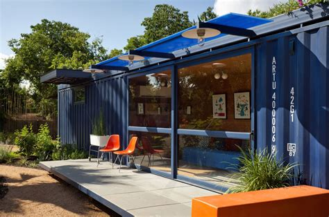 house with guest house shipping container guest house by jim poteet homedsgn